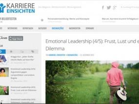 Magazin über Karrierewege (Screenshot: Karriere-Einsichten)