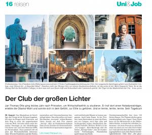 Tagebuch in der Süddeutschen Zeitung