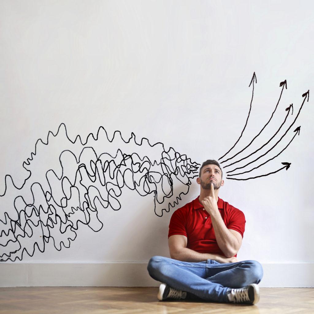 Vieles im Kopf, welche fünf Themen sollen auf die Agenda? Fokus! (Foto: Ollyy/ Shutterstock)